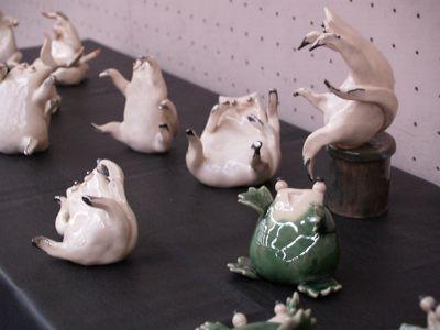 浦山 和代「鳥獣戯画・2009」